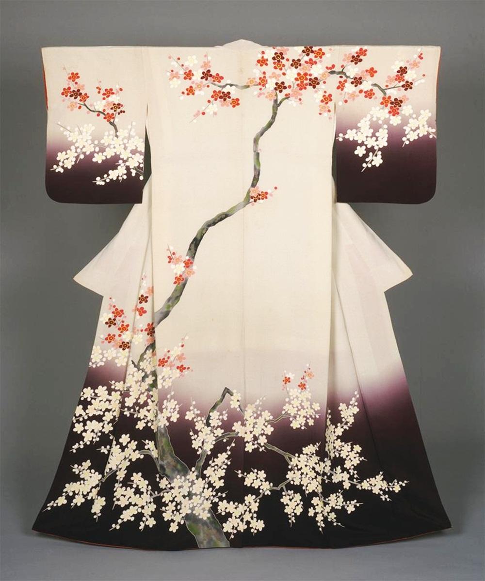 Flower Print Kimono